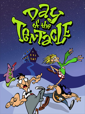 'Day of the Tentacle'-Poster