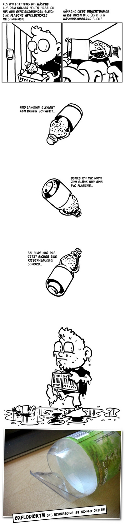 Comic: Apfelschorle von Beetlebum