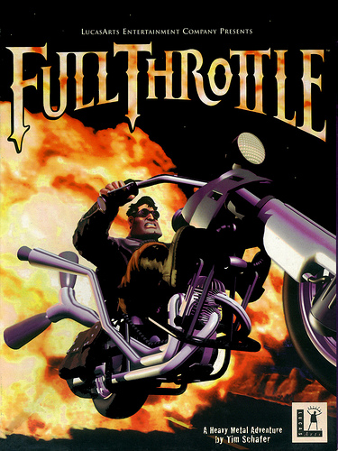 'Full Throttle'-poster