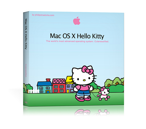 Mac OS X Hello Kitty Box Shot
